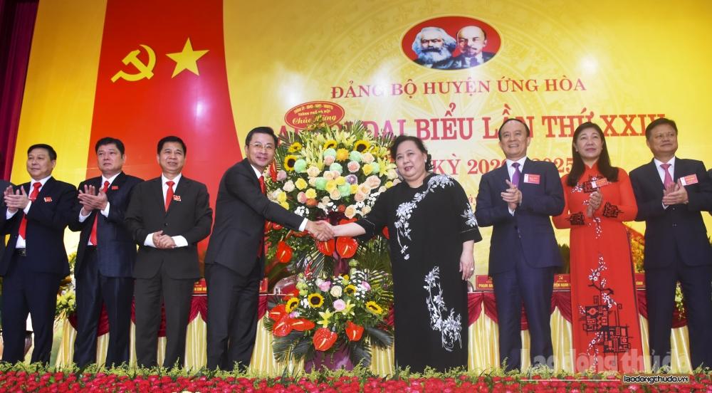 Xây dựng huyện Ứng Hòa xanh, sạch, hội nhập và phát triển toàn diện