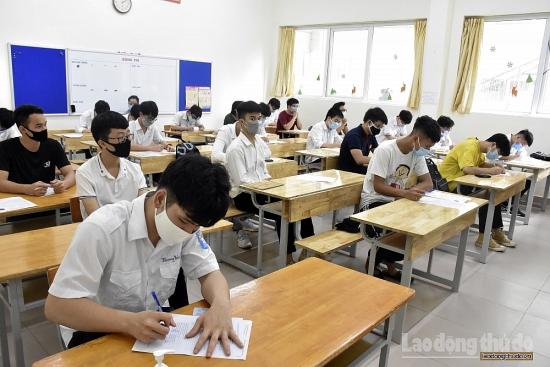 Hà Nội phấn đấu hoàn thành chấm thi tốt nghiệp Trung học phổ thông vào ngày 24/8