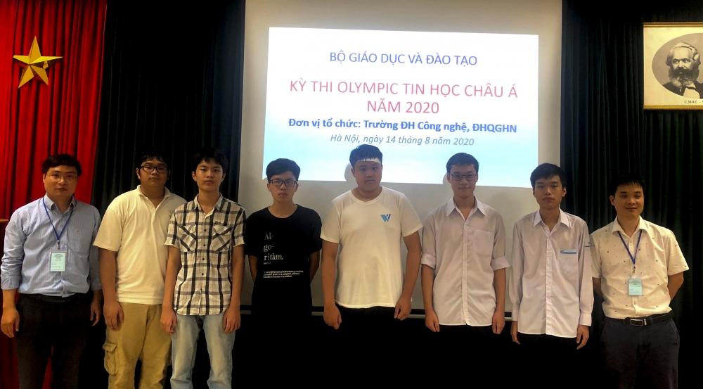 6 học sinh Việt Nam giành huy chương tại Olympic Tin học châu Á - Thái Bình Dương