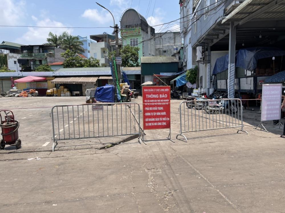 Thông báo khẩn tìm người đến ngõ 187 đường Hồng Hà và chợ Long Biên từ 18/7 đến 3/8