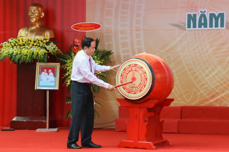 Thầy trò Trường THPT Phan Huy Chú hân hoan ngày tựu trường