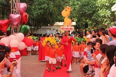 Tưng bừng 'Ngày hội đến trường của bé' năm học 2018 - 2019