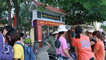 Yêu cầu làm rõ các khoản thu tại trường Tiểu học Sơn Đồng