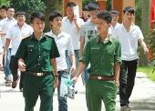 Các trường quân đội thông báo tuyển sinh bổ sung