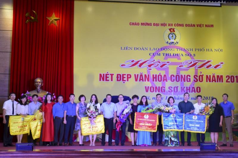 Sôi nổi Hội thi Nét đẹp văn hóa công sở năm 2018 vòng sơ khảo