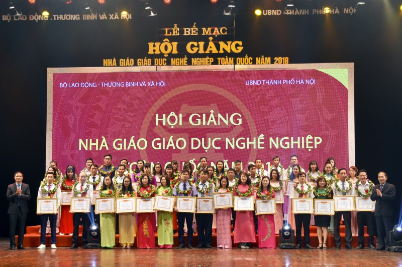 Hà Nội đạt giải nhất Hội giảng nhà giáo giáo dục nghề nghiệp