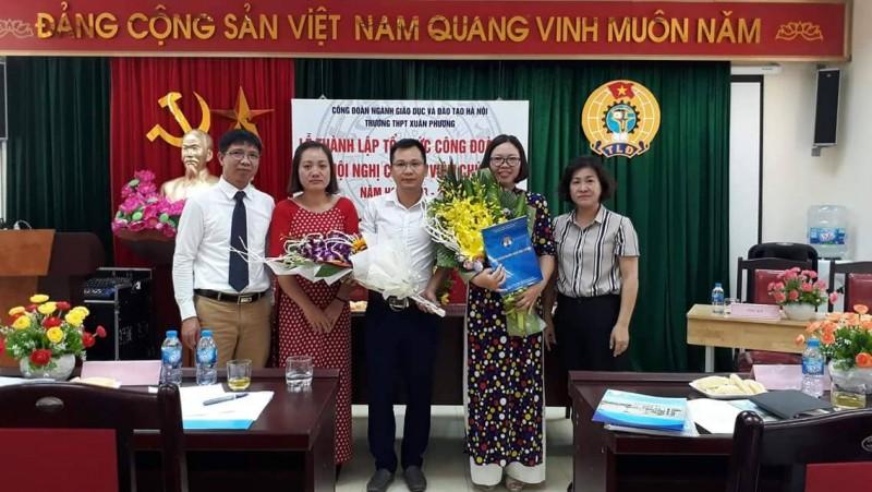 Ra mắt Công đoàn Trường THPT Xuân Phương