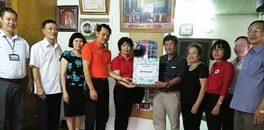 Quận Ba Đình: Trao tặng công trình sửa chữa nhà Chữ thập đỏ