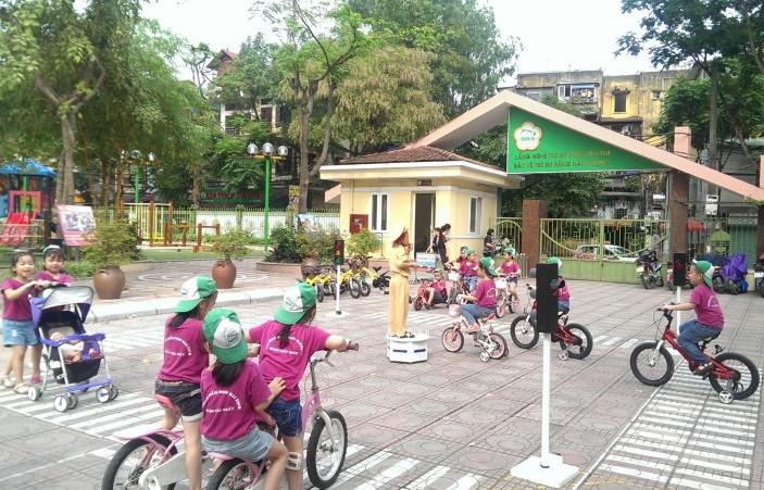 Hà Nội: Phối hợp tuyên truyền về trật tự, an toàn giao thông trong các trường học