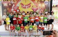 Trung thu tràn đầy yêu thương tại Trường Tiểu học Bình Minh
