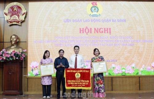 Tổng kết hoạt động công đoàn khối Giáo dục năm học 2018 - 2019