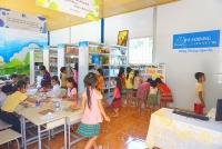Xây thư viện, thắp sáng tương lai cho học trò nghèo vùng khó