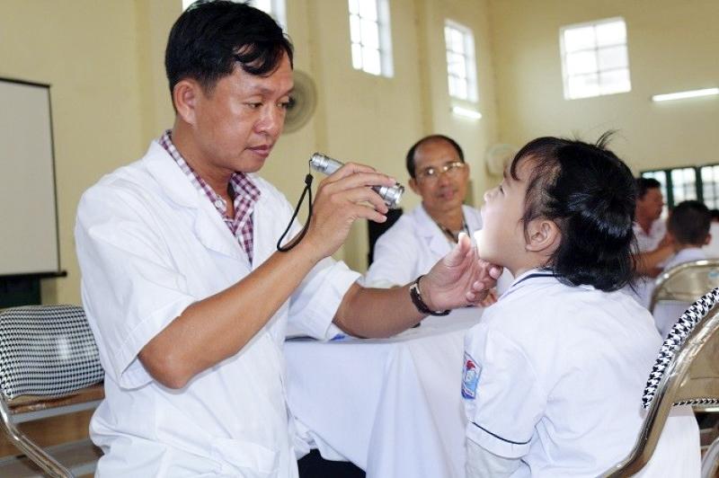Kiện toàn Ban chăm sóc sức khỏe học sinh tại trường học
