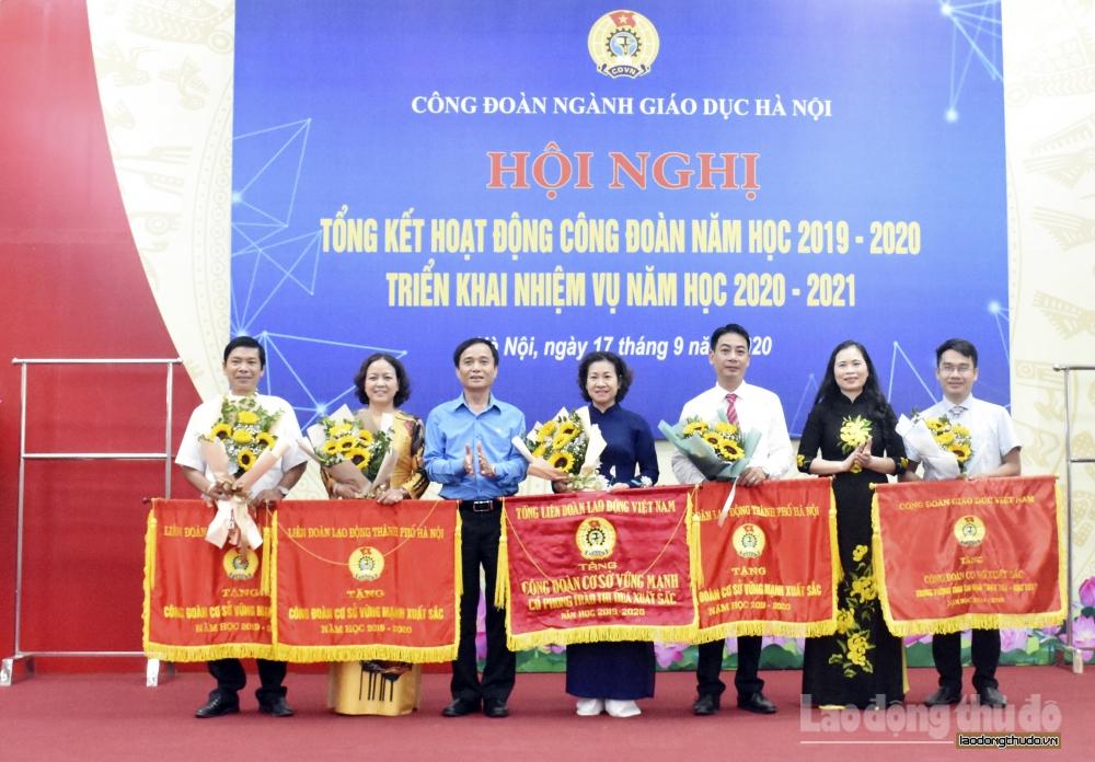 Tổng kết hoạt động công đoàn năm học 2019 - 2020
