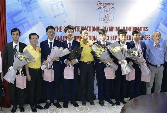 Việt Nam giành 4 Huy chương tại Olympic Tin học quốc tế năm 2020