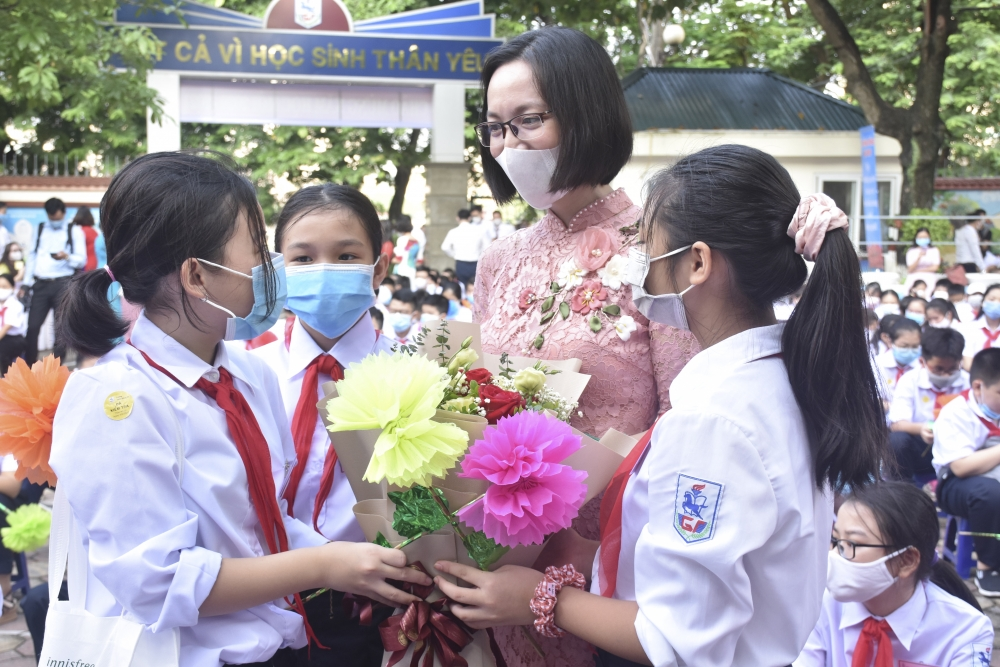 Sáng 5/9, Hà Nội tổ chức lễ Khai giảng chung cho học sinh toàn Thành phố