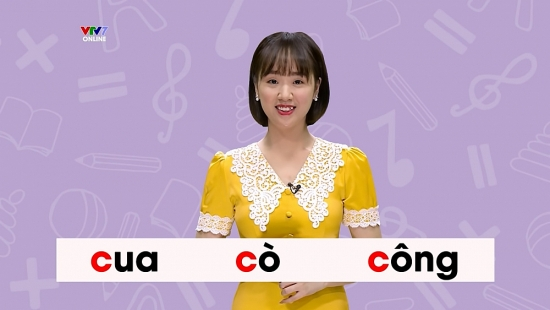 3 kênh truyền hình quốc gia phát sóng bài giảng lớp 1, lớp 2