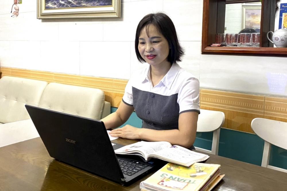 Hà Nội: Tiếp tục việc dạy và học bằng hình thức trực tuyến