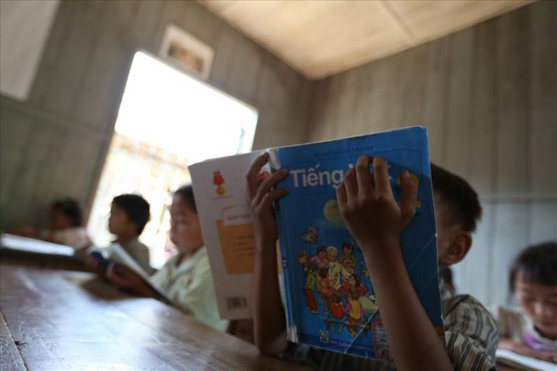 Việc sử dụng lại sách giáo khoa hiện mới đạt khoảng 35%