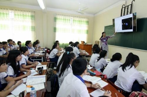 Tăng cường hiệu quả hoạt động giáo dục trong các trường THCS