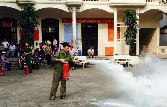 Hà Nội: Tổ chức 12 lớp tập huấn công tác phòng cháy, chữa cháy và cứu nạn, cứu hộ