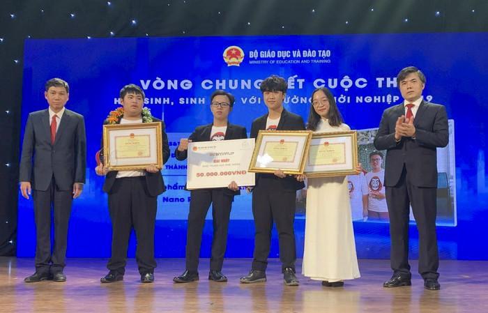 the le cuoc thi hoc sinh vien voi y tuong khoi nghiep nam 2020