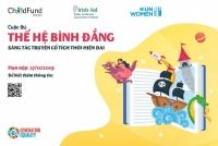 Phát động cuộc thi 'Thế hệ bình đẳng: Sáng tác truyện cổ tích thời hiện đại'