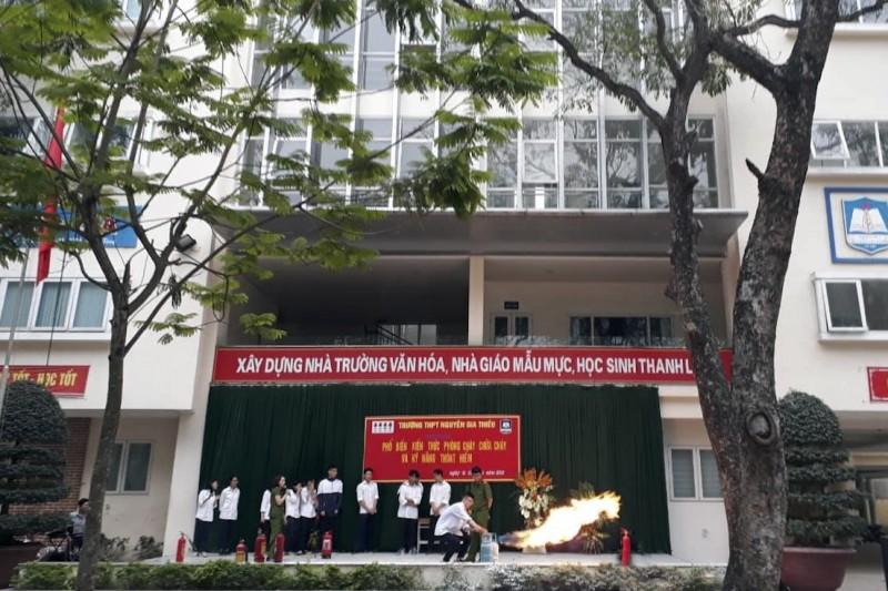 Đảm bảo an toàn phòng cháy, chữa cháy trong trường học