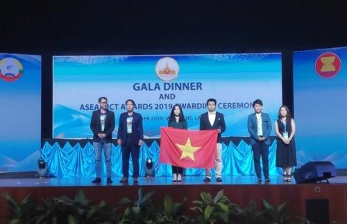 Việt Nam giành giải Bạc ở hạng mục Nội dung số