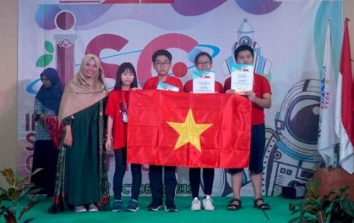 Học sinh Thủ đô đạt thành tích cao tại Kỳ thi Khoa học Quốc tế