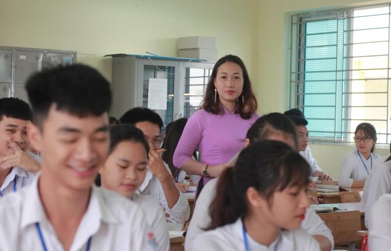 Nữ giáo viên tâm huyết với nghề