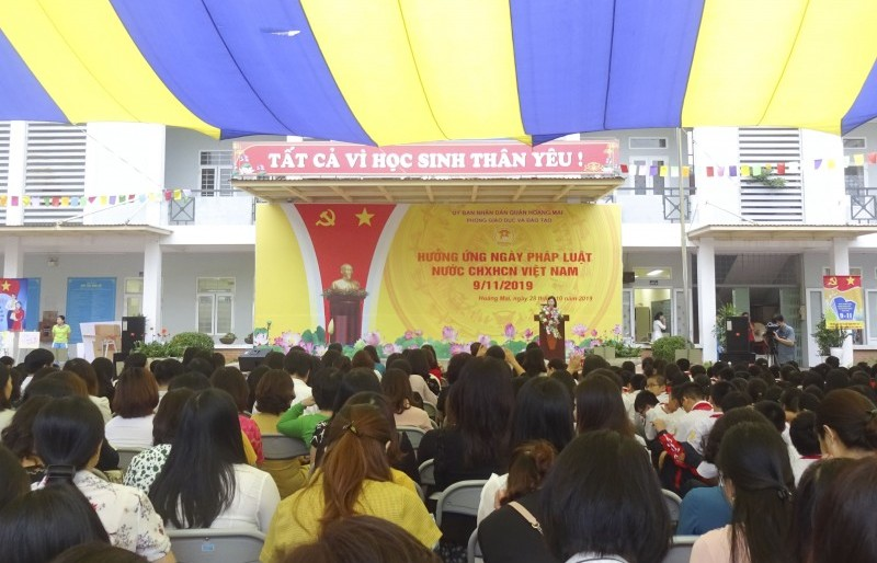 Hưởng ứng Ngày Pháp luật Việt Nam năm 2019