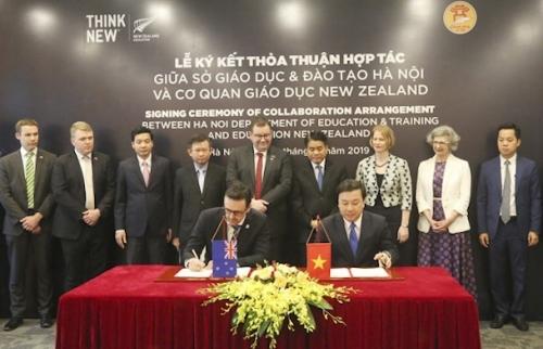 Tăng cường hợp tác giáo dục giữa Hà Nội và New Zealand