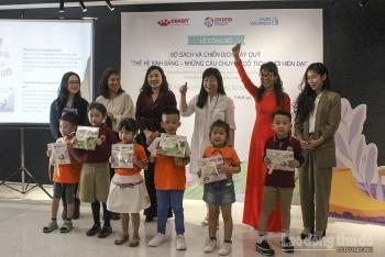 Ra mắt bộ sách về bình đẳng giới đầu tiên tại Việt Nam dành cho thiếu nhi