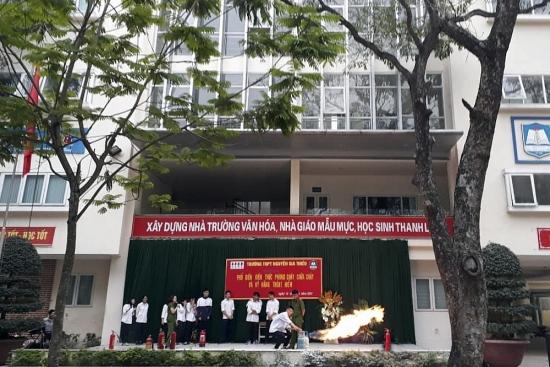 Lồng ghép giáo dục kỹ năng phòng cháy, chữa cháy trong trường học