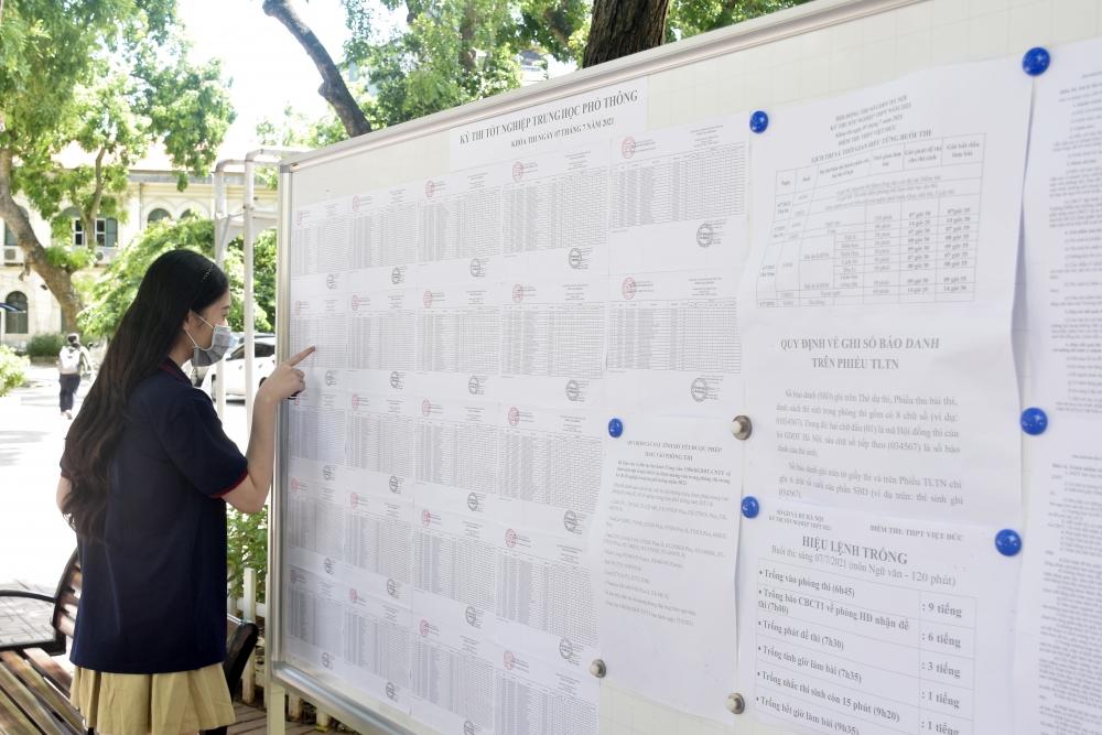Kỳ thi tốt nghiệp THPT năm 2022 được tổ chức cơ bản giữ ổn định như năm 2021
