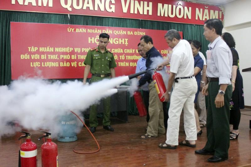 Nâng cao trách nhiệm của các cấp trong phòng cháy, chữa cháy và cứu nạn, cứu hộ
