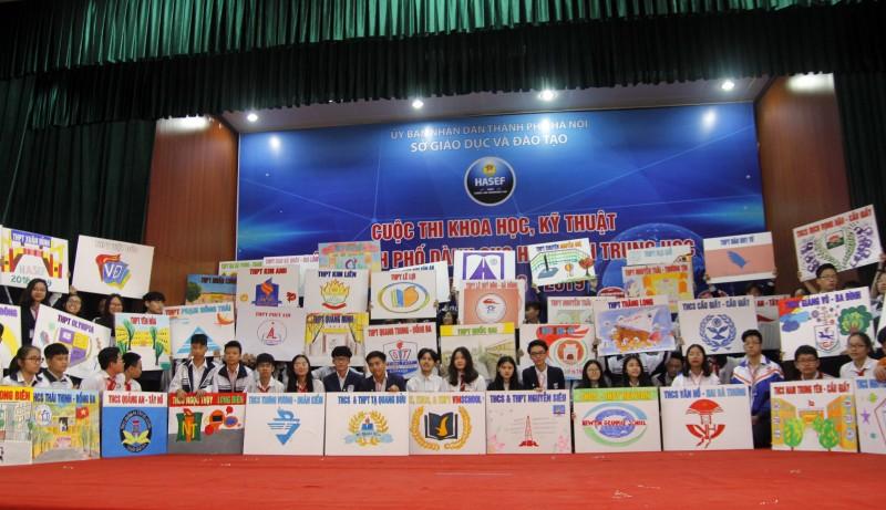 Hà Nội: Khai mạc cuộc thi khoa học kỹ thuật dành cho học sinh trung học