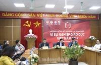 """44 tác phẩm đạt giải Báo chí toàn quốc """"Vì sự nghiệp Giáo dục Việt Nam"""""""
