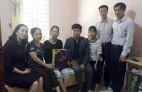 Trợ cấp các nhà giáo có hoàn cảnh khó khăn nhân ngày Nhà giáo Việt Nam