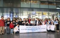 Nhiều đoàn học sinh quốc tế đến Hà Nội dự Kỳ thi Olympic Toán và Khoa học quốc tế