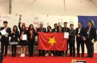 Học sinh Hà Nội giành Cúp đặc biệt và Huy chương Vàng