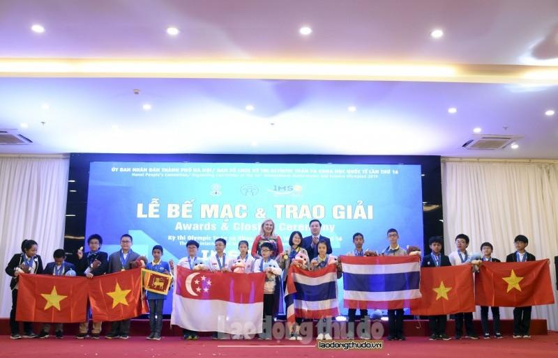 Học sinh Việt Nam đạt thành tích cao tại Kỳ thi Olympic Toán và Khoa học quốc tế 2019