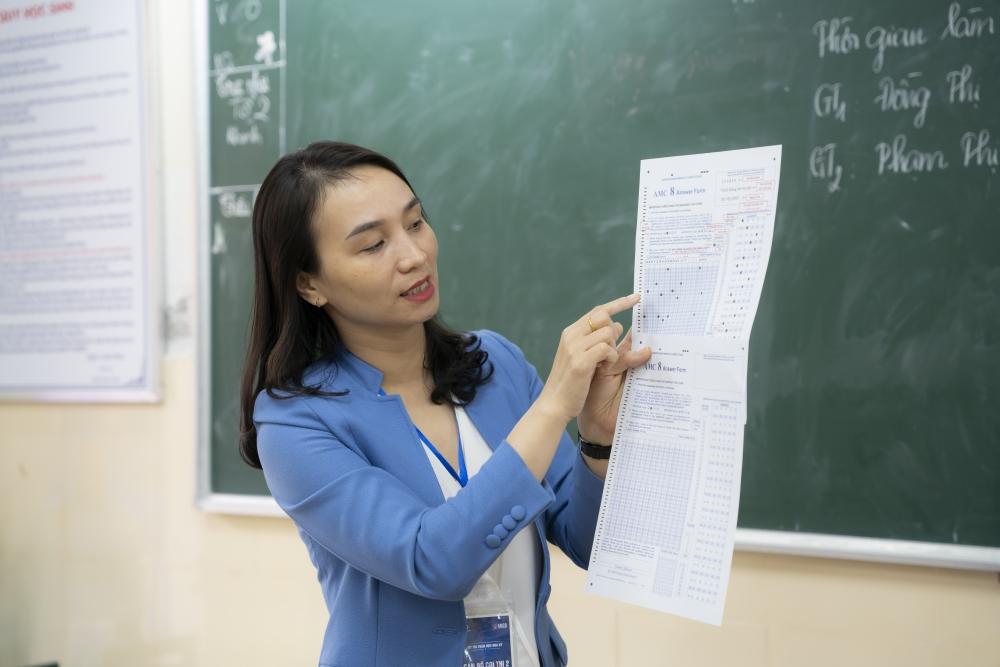 Kỳ thi Toán học Hoa Kỳ thúc đẩy niềm đam mê toán học cho học sinh Trung học cơ sở
