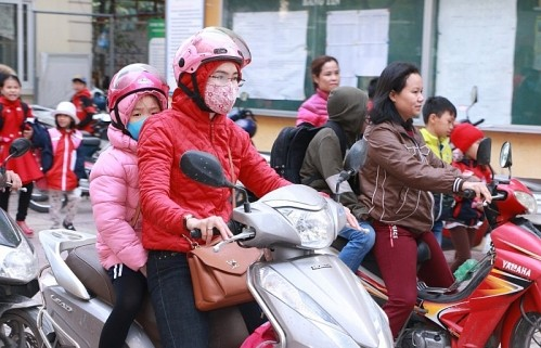 Hà Nội: Học sinh sẽ được nghỉ học nếu rét dưới 10 độ C