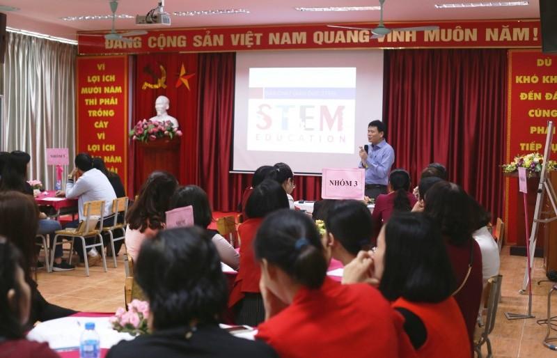 Tiếp cận giáo dục STEM trong giảng dạy