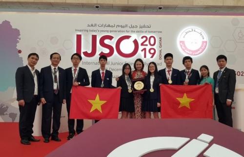 Học sinh Hà Nội đạt thành tích cao tại Kỳ thi Olympic Khoa học trẻ Quốc tế 2019