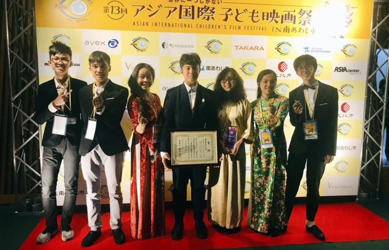 Phim của học sinh Hà Nội giành giải Phim xuất sắc tại Liên hoan phim Thiếu nhi quốc tế Châu Á