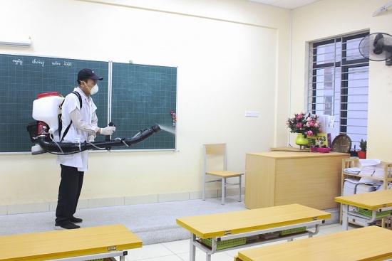 Tăng cường các biện pháp phòng, chống dịch Covid-19 trong trường học