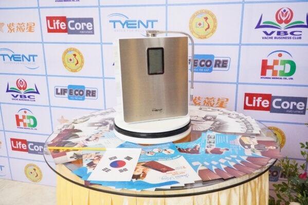 Ra mắt sản phẩm máy điện giải nước ion kiềm thế hệ mới
